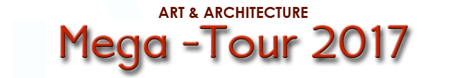 Art & Architecture Mega-Tour 2017